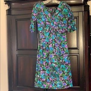 Gigi Young vintage silky 1950's dress